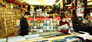 Los últimos compradores de discos